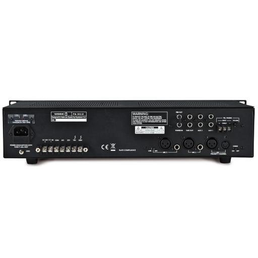 Work Pa 60/2 Amplificador/Mezclador para Megafonía [1]