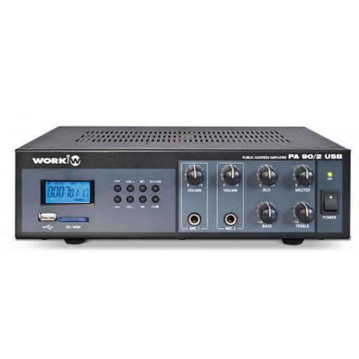 Work Pa 90/2 Usb Amplificador para Megafonía