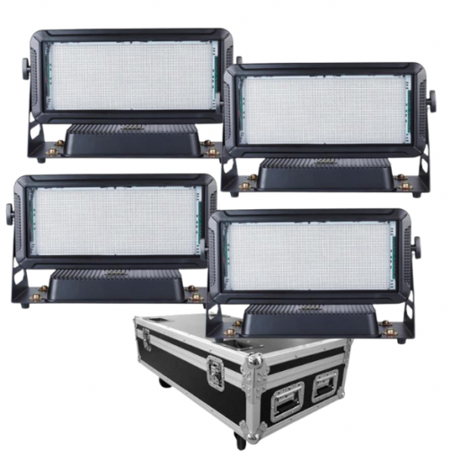 Prolight Pixel Wash 400 Rgb Estrobo de Led (Pack 4 uds. + Flight Case)