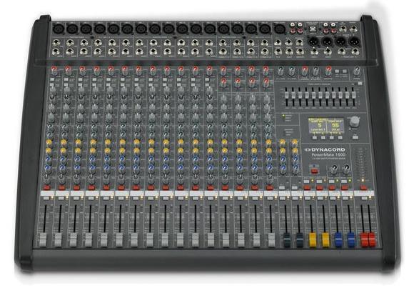 Dynacord PowerMate 1600-3 Mesa de Mezclas Amplificada