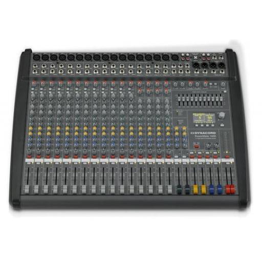 Dynacord PowerMate 1600-3 Mesa de Mezclas Amplificada [0]