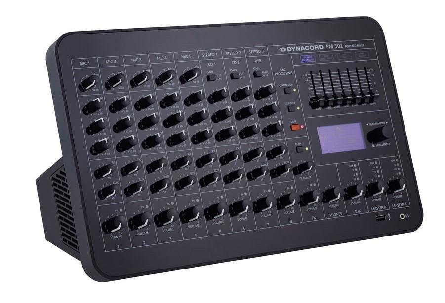 Dynacord PowerMate 502 Mesa de Mezclas Amplificada