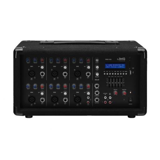 Stage Line Pmx-164 Mezclador Amplificado con BlueTooth