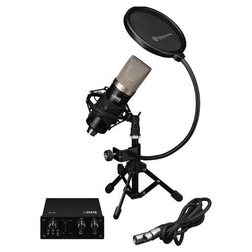 Stage Line Podcaster-1 Kit de Grabación