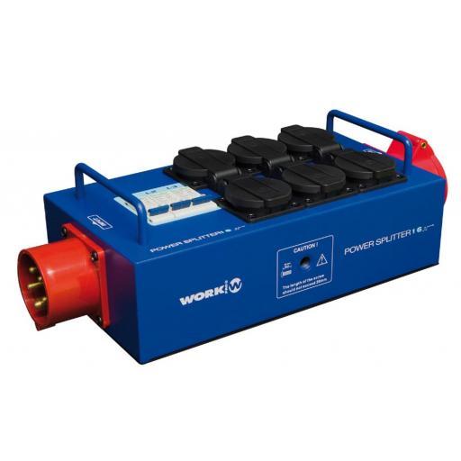 Work Power Splitter 16 Distribuidor de Corriente
