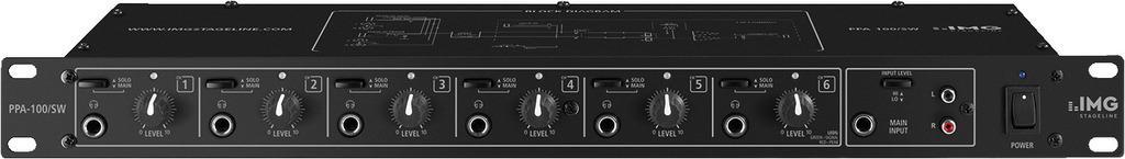 Stage Line Ppa-100/Sw Amplificador de Auriculares