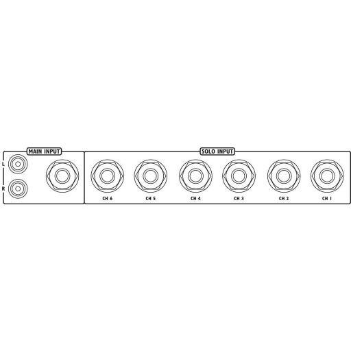 Stage Line Ppa-100/Sw Amplificador de Auriculares [1]