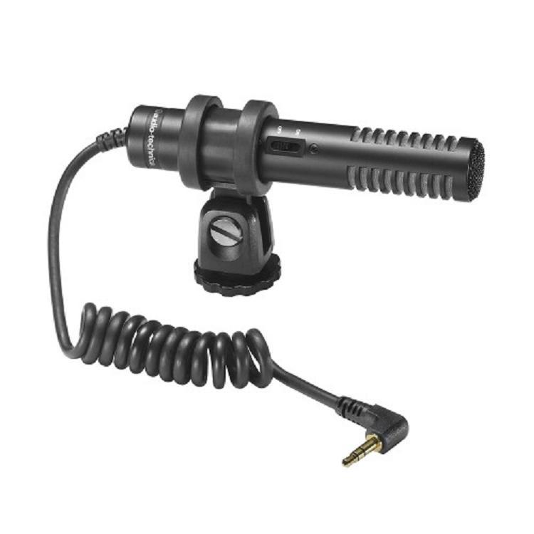 Audio-Technica Pro24-Cmf Micrófono Condensador Estéreo para Cámara