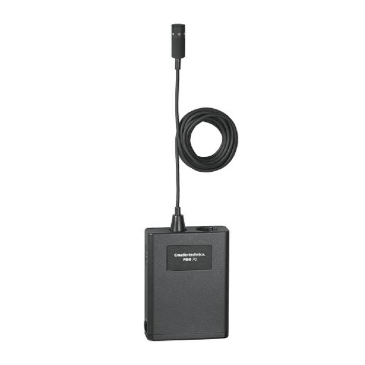 Audio-Technica Pro70 Micrófono de condensador cardioide lavalier