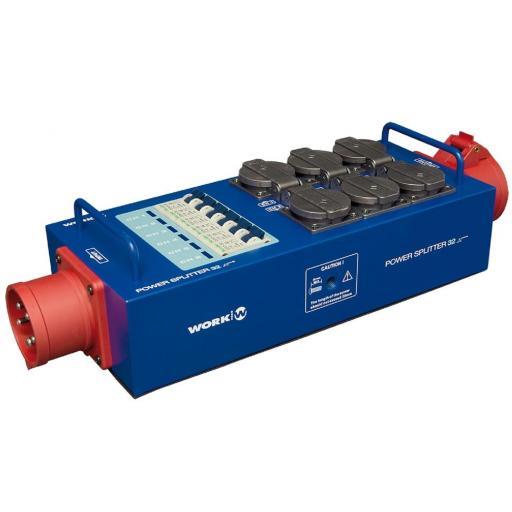 Work Power Splitter 32 Distribuidor de Corriente