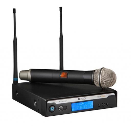 Electro voice R300-Hd/C Sistema Inalámbrico con Micrófono de Mano