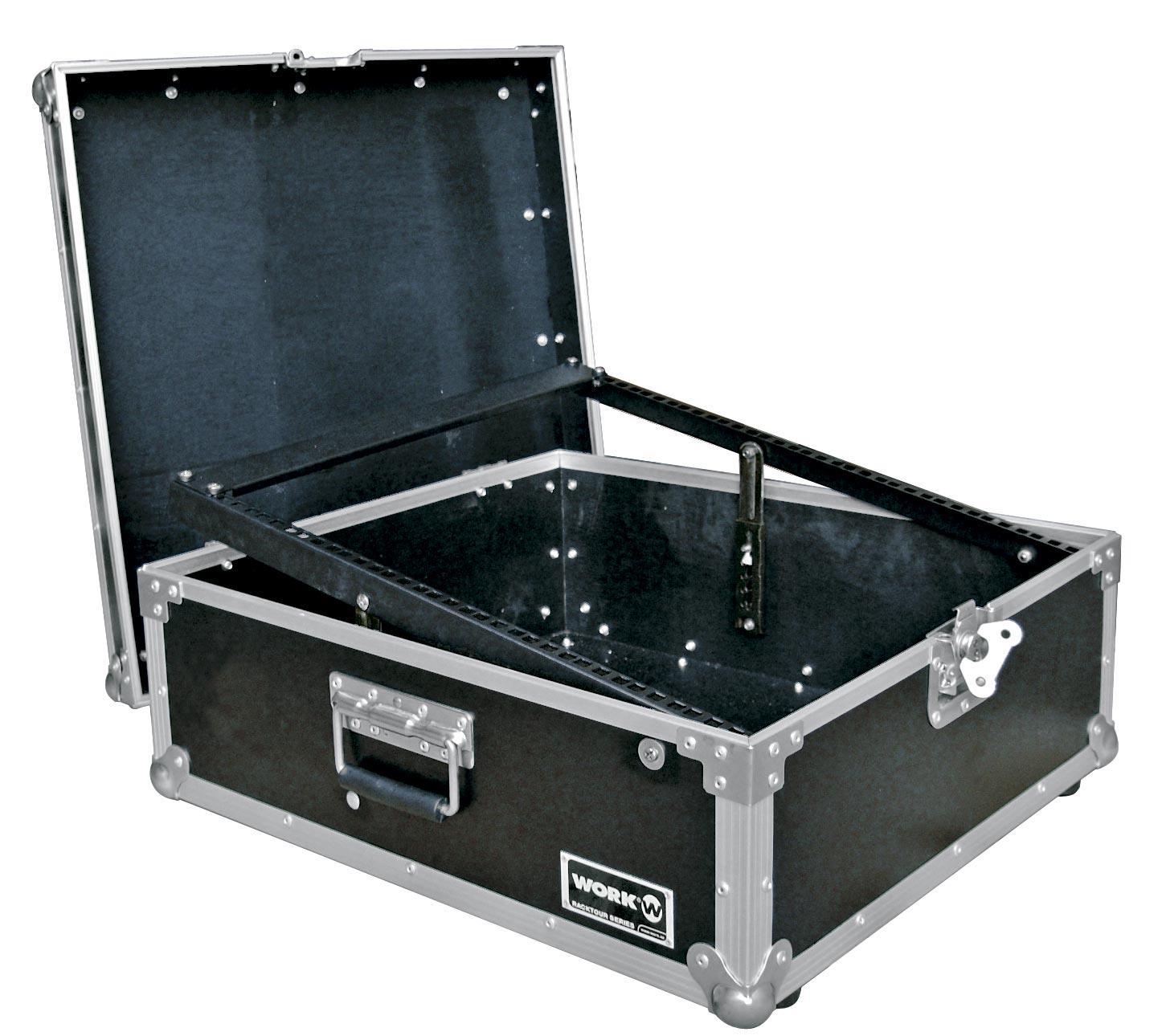 Work Rack Mixer Flight Case para Mezclador