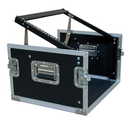 Flight Case Combinado 6U Work RackTour Mix 6