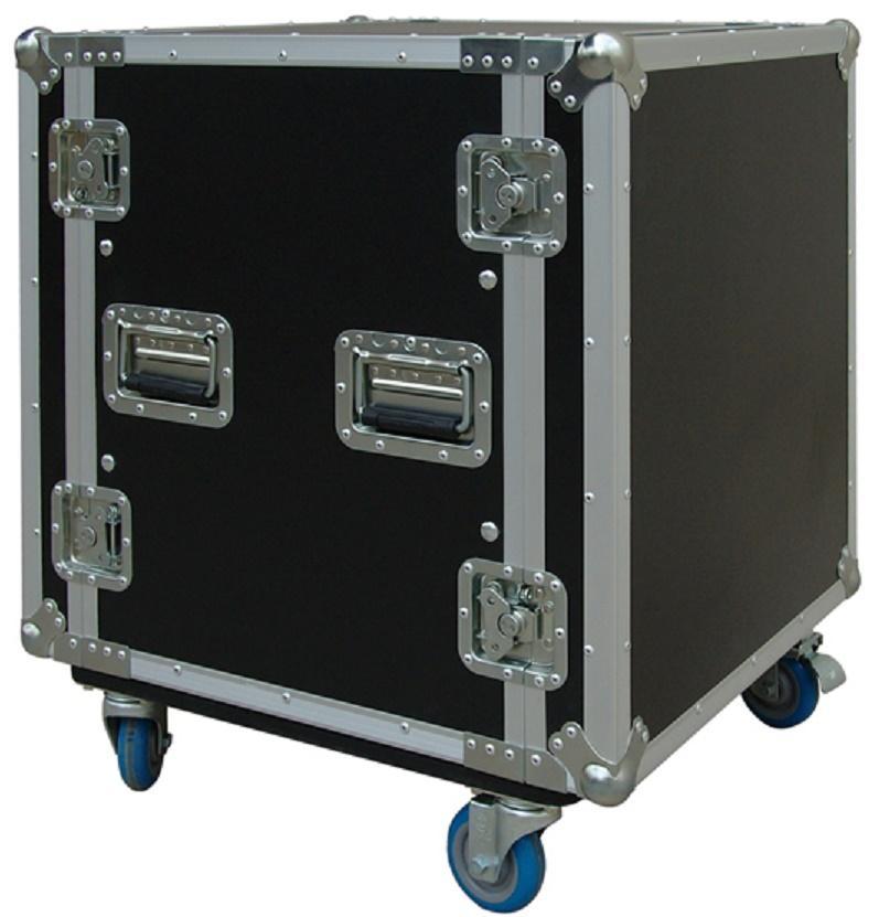 Flight-Case 12 U Anti-Shock c/ Ruedas Work RackTour Pro 12R