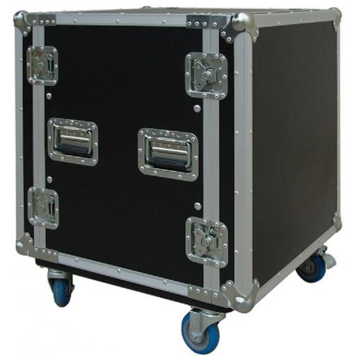 Flight-Case 12 U Anti-Shock c/ Ruedas Work RackTour Pro 12R [0]