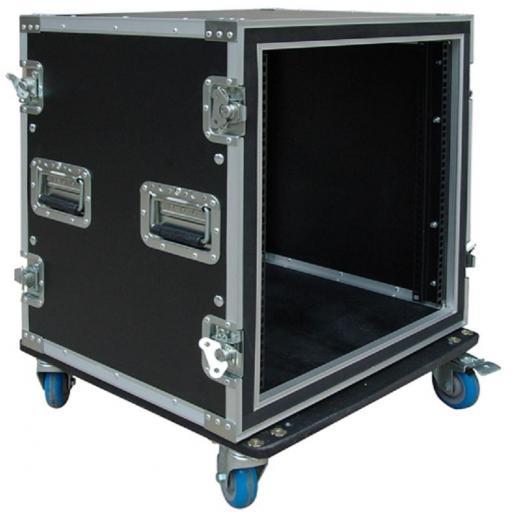 Flight-Case 12 U Anti-Shock c/ Ruedas Work RackTour Pro 12R [1]