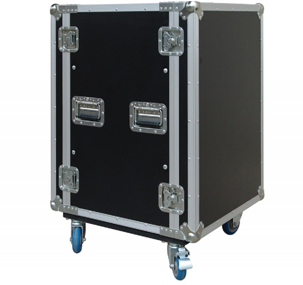 Flight-Case 16 U Anti-Shock c/ Ruedas Work RackTour Pro 16R