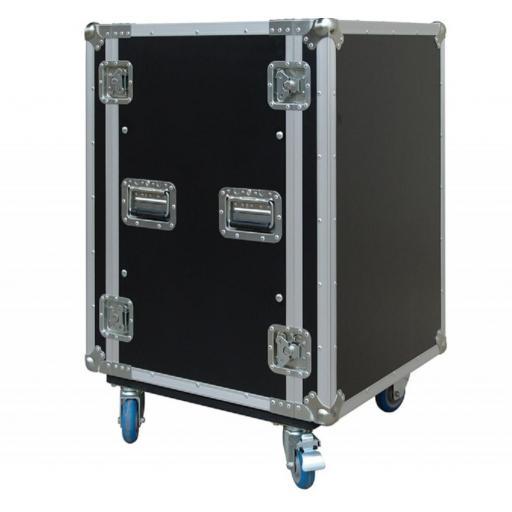 Flight-Case 16 U Anti-Shock c/ Ruedas Work RackTour Pro 16R [0]