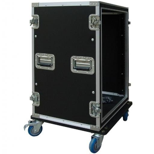 Flight-Case 16 U Anti-Shock c/ Ruedas Work RackTour Pro 16R [1]