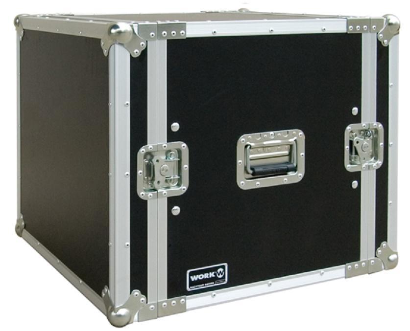 Flight-Case 10 U Anti-Shock Work RackTour Pro 10
