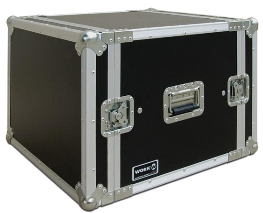 Flight-Case 8 U Anti-Shock Work RackTour Pro 8