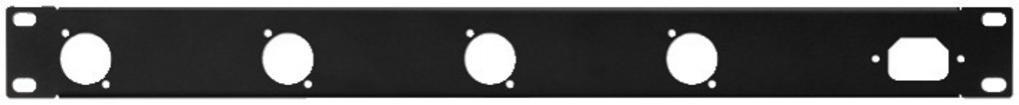 Tapa de Rack Perforada Rcp-8733U