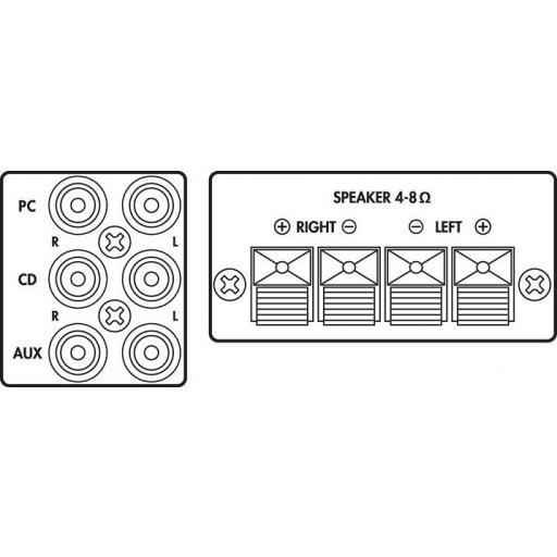 Monacor Sa-100 Amplificador Estéreo [1]