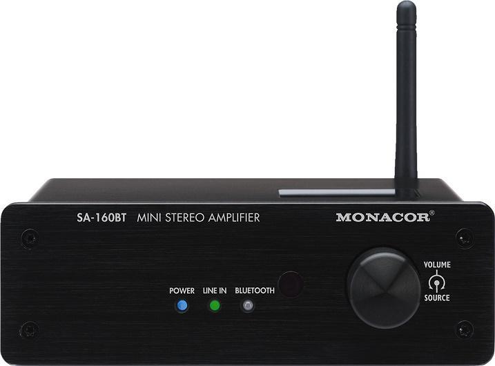 Monacor Sa-160Bt Amplificador con Bluetooth