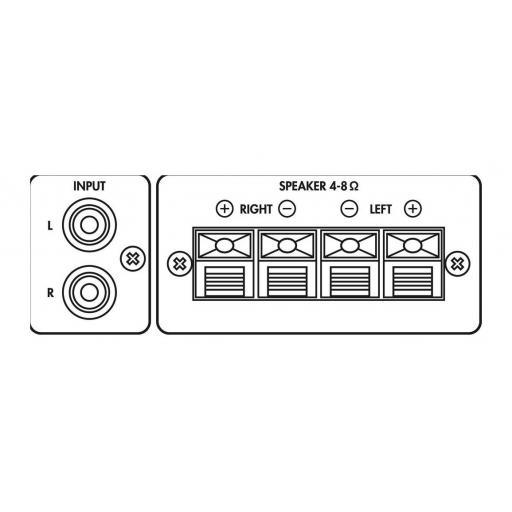 Monacor Sa-200 Amplificador Estéreo [1]