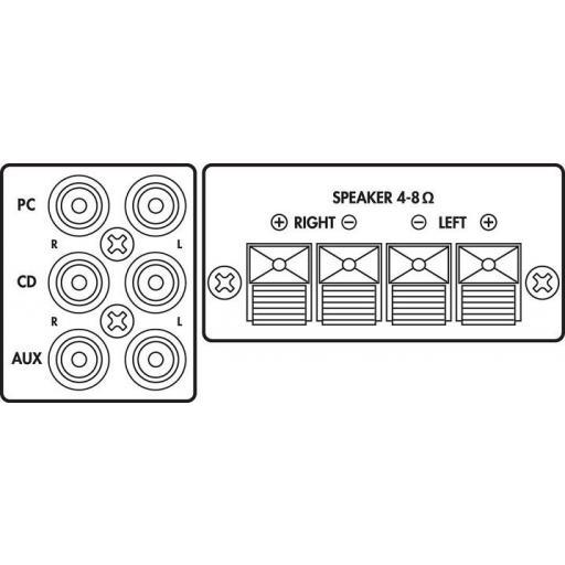 Monacor Sa-50 Amplificador Estéreo [1]