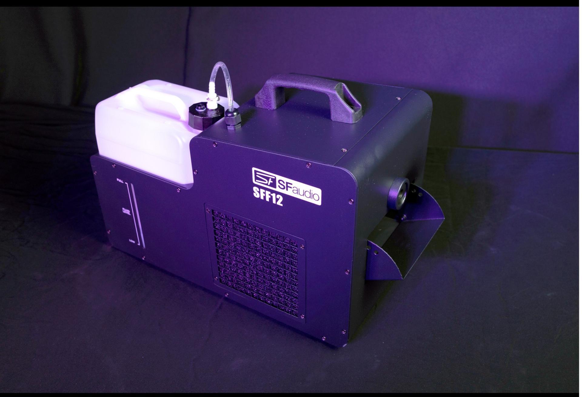 SfAudio Sff12 Máquina de Niebla