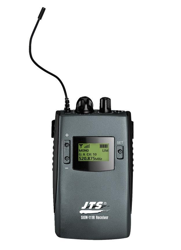Jts Siem-111/R5 Receptor Inalámbrico In-Ear