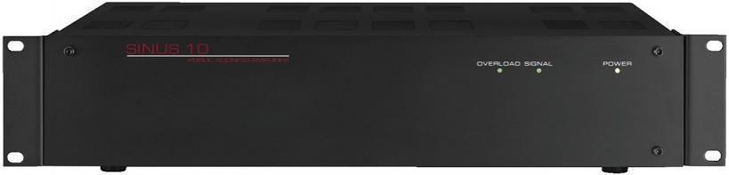 Monacor Sinus-10 Amplificador para megafonía 1x120 Watios
