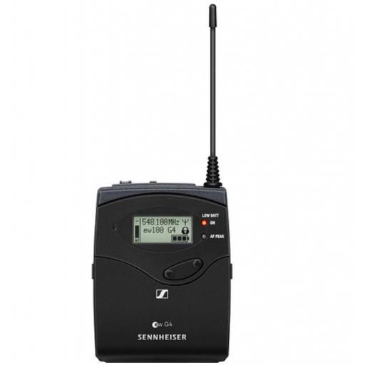 Sennheiser Sk 100-G4 Transmisor de Petaca [0]