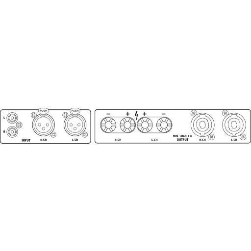 Stage Line Sta-800D Etapa de Potencia [1]