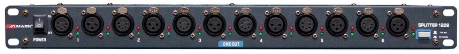 Mark Splitter 1202 Distribuidor Dmx