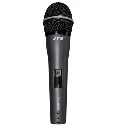 Jts Tk-600 Micrófono Dinámico Vocal