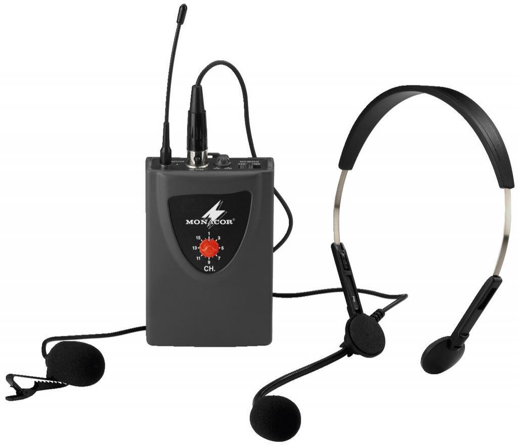 Monacor Txa-100Hse Emisor Inalámbrico de Petaca