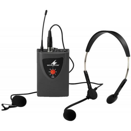 Monacor Txa-100Hse Emisor Inalámbrico de Petaca [0]