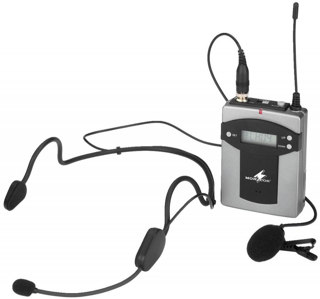 Monacor Txa-800Hse Emisor Inalámbrico de Petaca