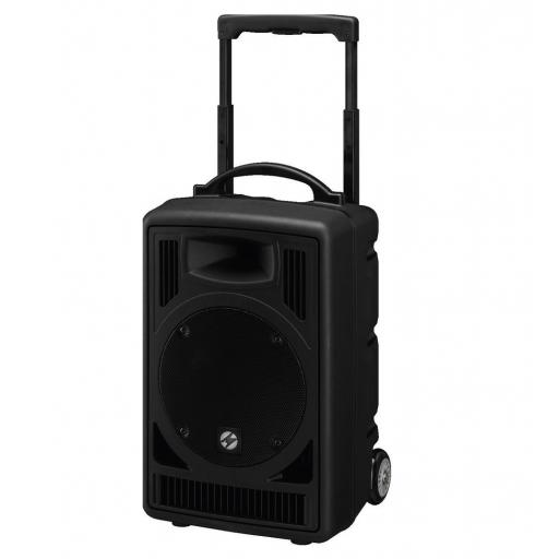 Monacor Txa-822Cd Sistema de Sonido Portátil con BlueTooth