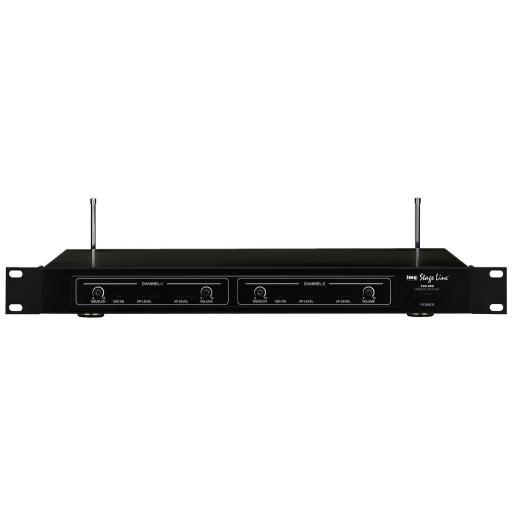 Stage Line Txs-860 Receptor Inalámbrico 2 Canales [0]