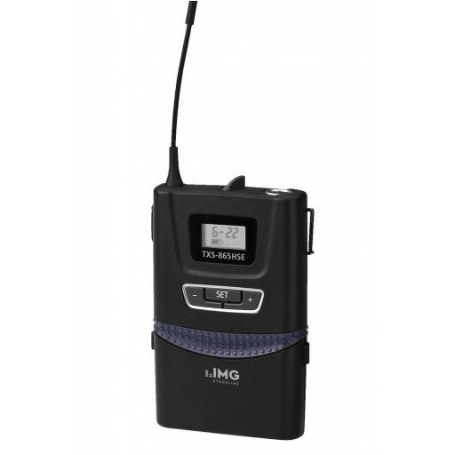 Stage Line Txs-865Hse Emisor Inalámbrico de Petaca