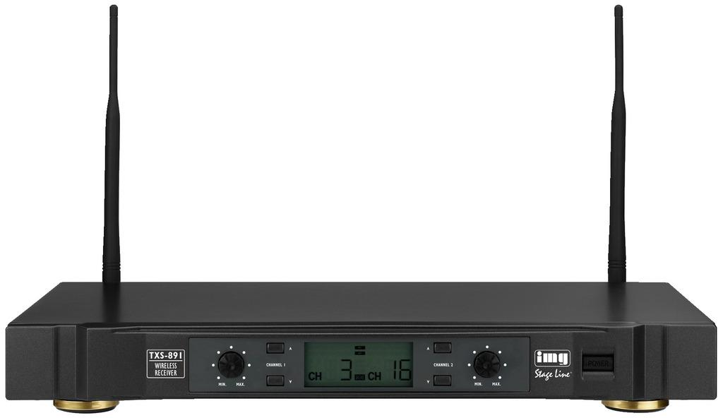 Stage Line Txs-891 Receptor Inalámbrico 2 Canales