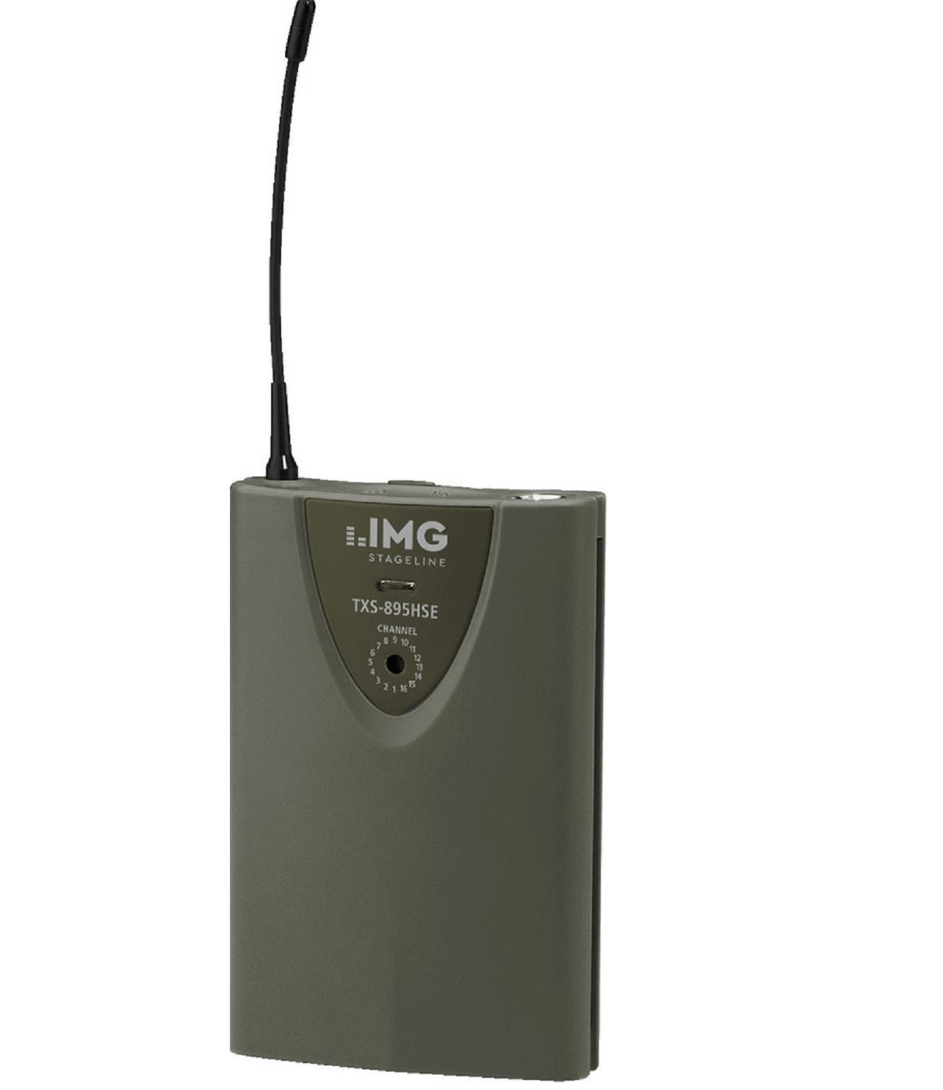 Stage Line Txs-895Hse Transmisor inalámbrico de Petaca