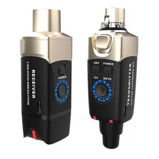 Xvive U3C Sistema Inalámbrico para Micrófono de Condensador