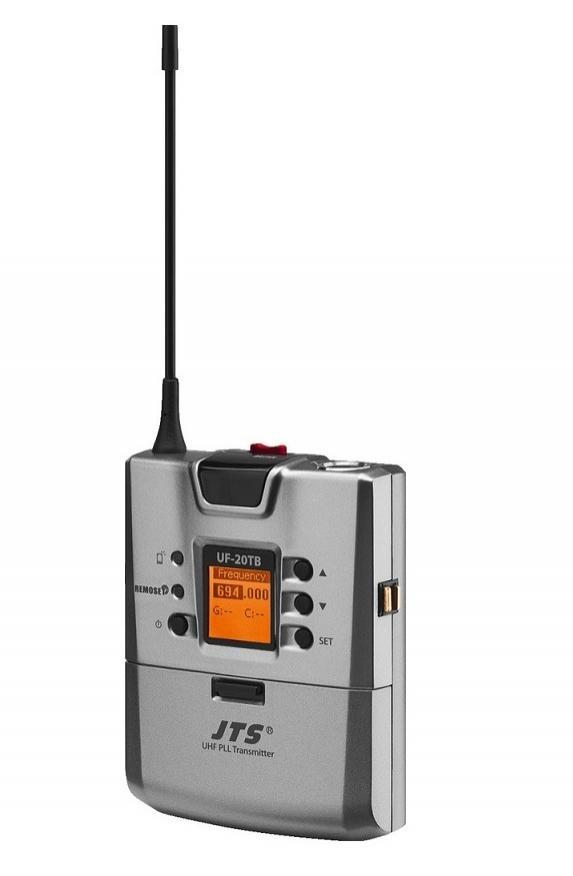 Jts Uf-20Tb/5 Emisor Inalámbrico de Petaca