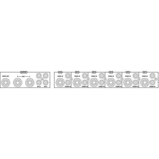 Stage Line Ulm-164/Sw Mezclador de Línea [1]