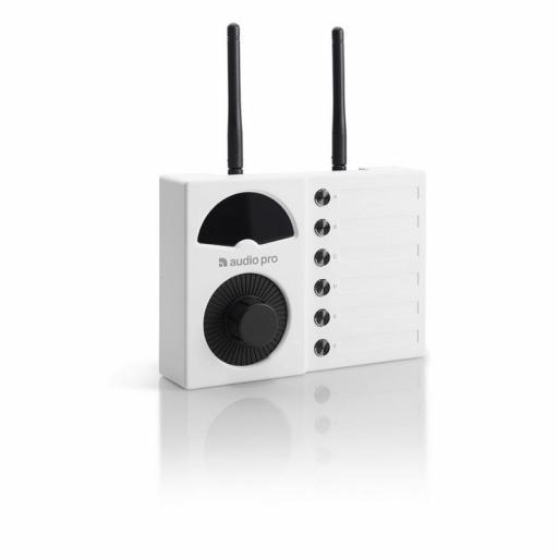 Audio Pro Business Vol-1 Blanco Control de Volumen Inalámbrico para Altavoces