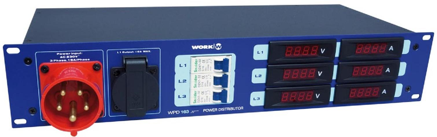Work Wpd 163 Distribuidor de Corriente